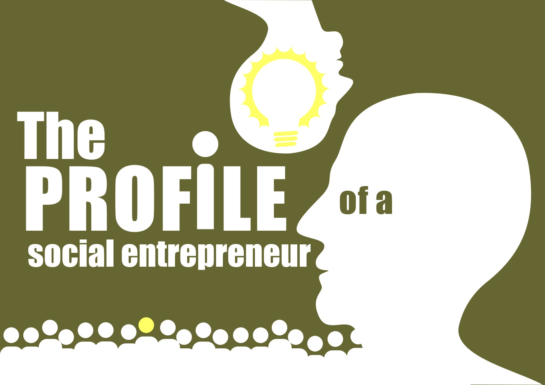 The profile of a social entrepreneur