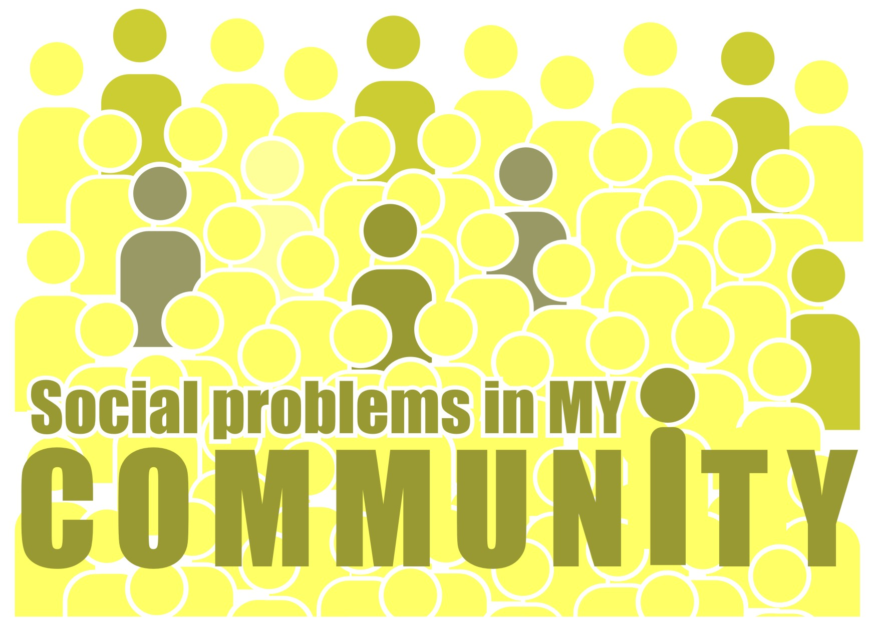 Social problems in my community